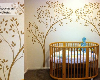 Tree Canopy Portal Wall Decal by LittleLion Studio