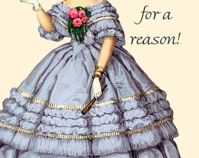 """Nothing Happens For A Reason! ~ Marie Antoinette 4"""" x 6"""" Postcards - Free Shipping in USA"""