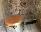 Vintage Revere Ware Measuring Cup Pot Copper Clad Bottom - #F2013