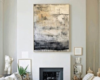 "40""Painting,, Original painting , abstract painting,,   thick textured painting from Jolina Anthony wall decor for your home"