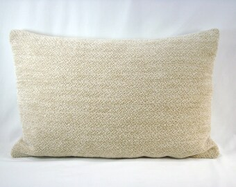 Upholstery Lumbar Pillow Accent  Decorative Pillow  14x21 Cover Only