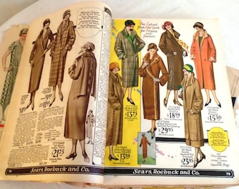 Vintage Sears Catalog 1920's 1925 Sears Catalog Rare Original Full Catalog