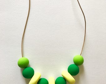 Vibrant Geometric Necklace Modern