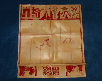 Osiris Fortune Telling Board - for Tarot, Rameses, Nile, Gyspy Witch, and other Oracle Cards