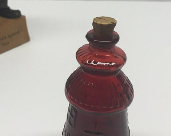 Weaton NJ Lighthouse Cape May Miniature Bitters Bottle original stopper 3 inch