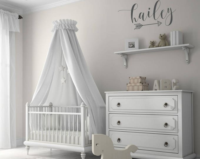Name Decals for Nursery | Name Decor | Personalized Decal | Baby Girl Nursery Decor