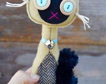 Retro wool Cat Siamese (#1)