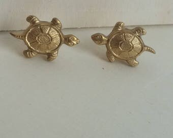 Turtle Studs, Turtle Earrings, Gold Turtle Studs, Turtle Jewelry, Gold Turtle Earrings, Tortoise Earrings, Tortoise Jewellery, Gifts or her