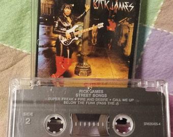 """Rick James """"Street Songs"""" 1981 cassette tape"""
