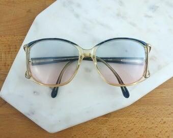 Women's  Vintage Eyeglasses Frames, Vintage Glasses, Oversized Frames,  Secretary / Librarian Glasses, Mod Style Carmen