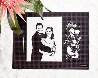 Custom Art, Custom Wedding Gift, Custom Portrait, Custom Illustration, Custom Artwork, Custom Family Portrait, Custom Anniversary Gift