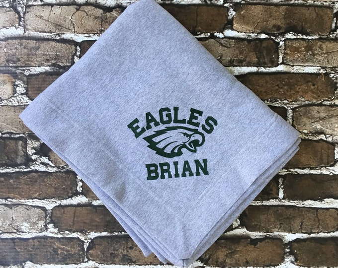 Monogram Blanket, Team Blanket, Personalized Blanket, Monogrammed blanket, Custom Blanket, Team Gifts, Coaches Gifts, Group Discounts