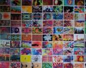 100+ Bulk Art Postcards / Wholesale Postcard Lot / Artist Painting Cards for Postcrossing