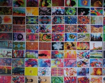 100+ Bulk Art Postcards / Wholesale Postcard Lot / Artist Painting Cards for Postcrossing