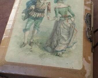 Antique Victorian Photo Album Plus Additional Antique Photo Lot Included