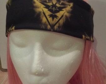 Pokemon Team Instinct Zapdos Headband