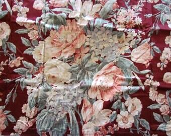 Ralph Lauren Desert Plains Red Floral King Pillow Sham NIP RARE