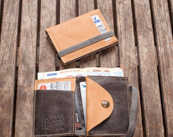 Leather Wallet, Wallet, Men Wallet, Gift Idea, For Him, Minimalist Wallet