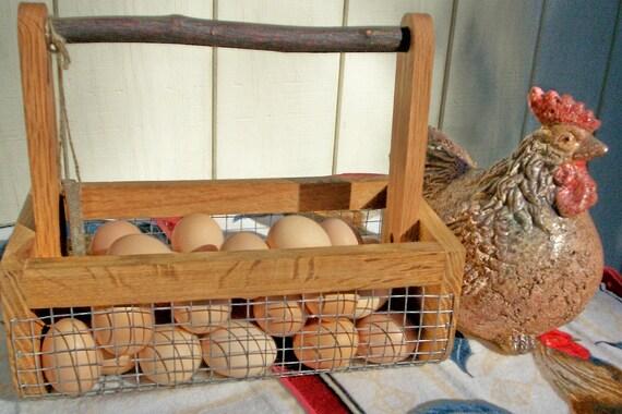 BURLIN Egg Basket, Bitty BURLIN Garden Harvesting Basket