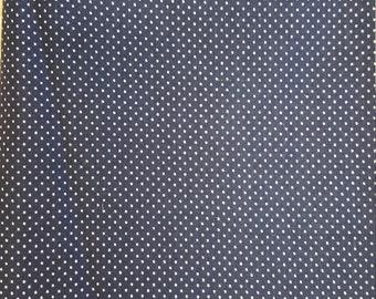 Navy Blue Pin Dot - Waaverly Inspirations