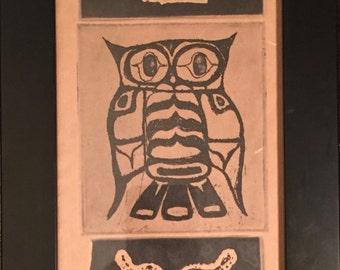 Owl Triptych