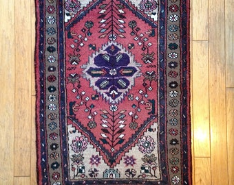 Vintage Persian Wool Shiraz Rug
