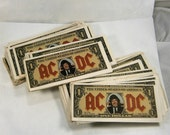 AC/DC  Money Talks / Angus Bucks / Angus Young Dollar Bills / Authentic Angus Bucks /   / Concert Memorabilia