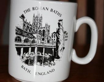 Vintage- The Roman Baths - England Mug