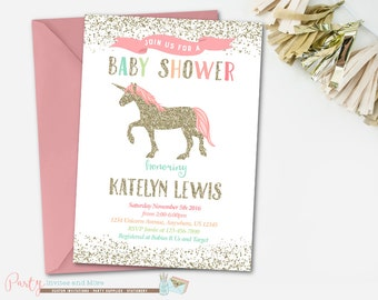 Baby Shower Princess Invitations with awesome invitation design