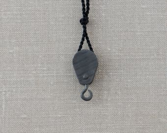 Round Pulley Necklace