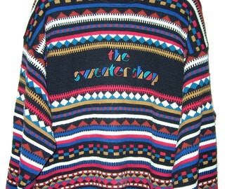 Vintage 90's Sweater Cosby Style Size  L