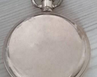 Vintage pocket watch, star denison case