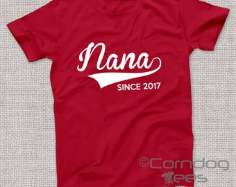 Gifts for Nana, Personalized Nana Gifts, Nana Shirts, Nana TShirts, Gift for Nana, Nana Gift, Nana TShirt, Nana T Shirt, Nana Christmas Gift