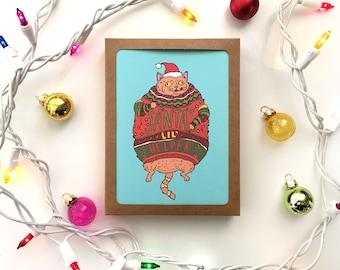 Santa's Lil' Helper Holiday Card Box Set