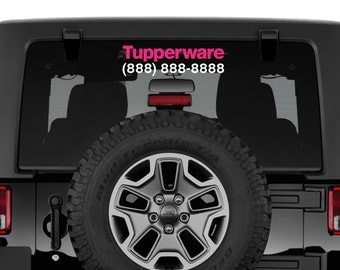 Tupperware Decal | Tupperware, Tupperware Car Decal, Tupperware Laptop Decal, Love What You Do, Monogram, Monogram Decal