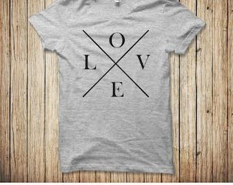love shirt valentines day shirt cute ladies valentines day shirt love tshirt - Valentines Day Shirts Ladies
