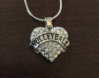 volleyball necklace, volleyball, volleyball gifts, volleyball mom, volleyball pendant, volleyball jewelry, volley ball, volleyball jewlery
