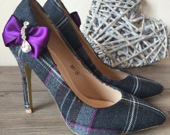 Custom tartan shoes (Exclusive package)