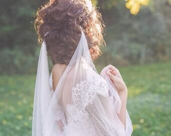 draped wedding veil draped veil bohemian veil draped bridal veil draped boho