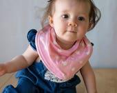 Baby bandana bib, baby girl bib, bandana bib girl, girl bib, baby shower gift, baby bib, drool bib, scarf bib, baby girl gift, girl bandanas