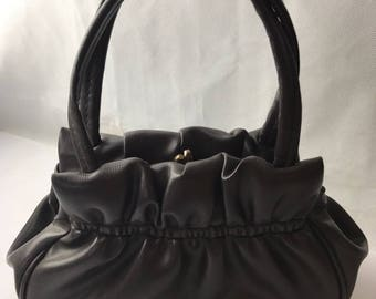Great 1940s Roused Top Bag