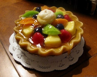 "5"" Tropical Fruit Pie Candles that look and smell amazing!!"