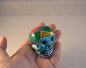 "Ceramic skull ""Day of the dead"""