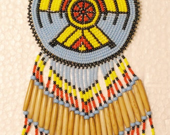 Native American Fancy Dancer's 4 piece Regalia Set with Thunder Birds