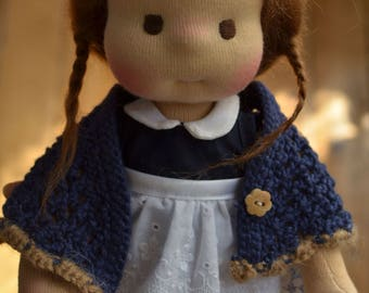 """Laure, waldorf doll 10"""" Made to order by Calinette"""