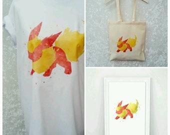 Pokemon Gift Package Flareon Team Eevee Christmas Gift Ideas