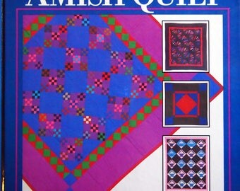 How To Make An Amish Quilt By Rachel And Kenneth Pellman Vintage Hardcover Quilting Pattern Book 1989