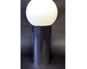 Mid Century Modern Robert Sonneman Chrome Globe Table Lamp
