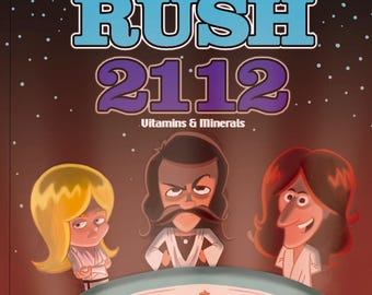 Rush 2112 decorative Cereal Box (Does not contain actual cereal)