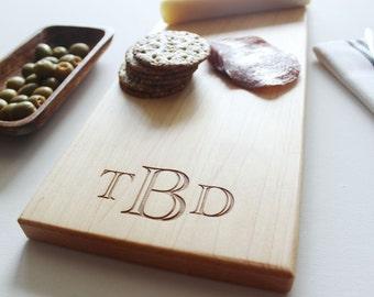 Personalized Monogram Cheese Board, Custom Name, Christmas Gift, Wedding, Anniversary, Gift For Boyfriend, Husband Gift, Personalized Mens